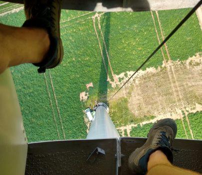 Blick von oben…